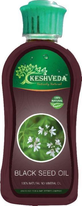 Keshveda Black Seed Oil (Pack Of 3)
