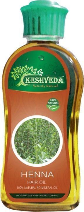 Keshveda Henna Hair Oil (Pack Of 3)