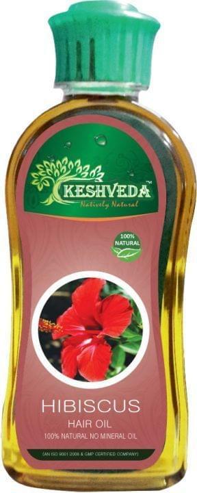 Keshveda Hibiscus Hair Oil (Pack Of 3)