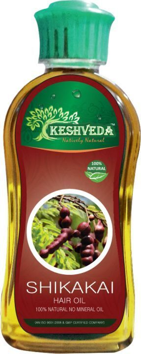 Keshveda Shikakai Hair Oil (Pack Of 3)