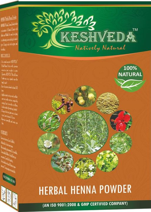 Keshveda Herbal Henna Powder (Pack Of 5)