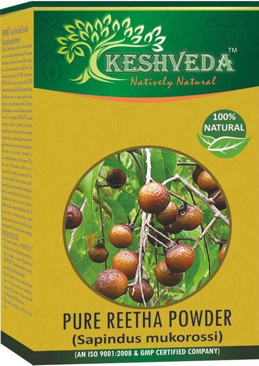 Keshveda Pure Reetha Powder (Pack Of 3)