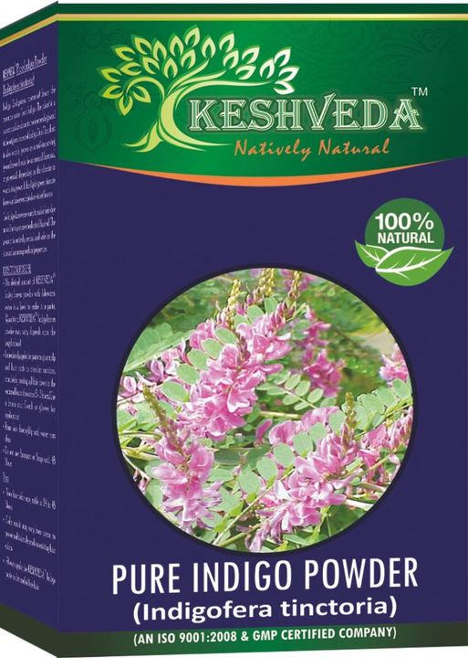 Keshveda Pure Indigo Powder (Pack Of 5)