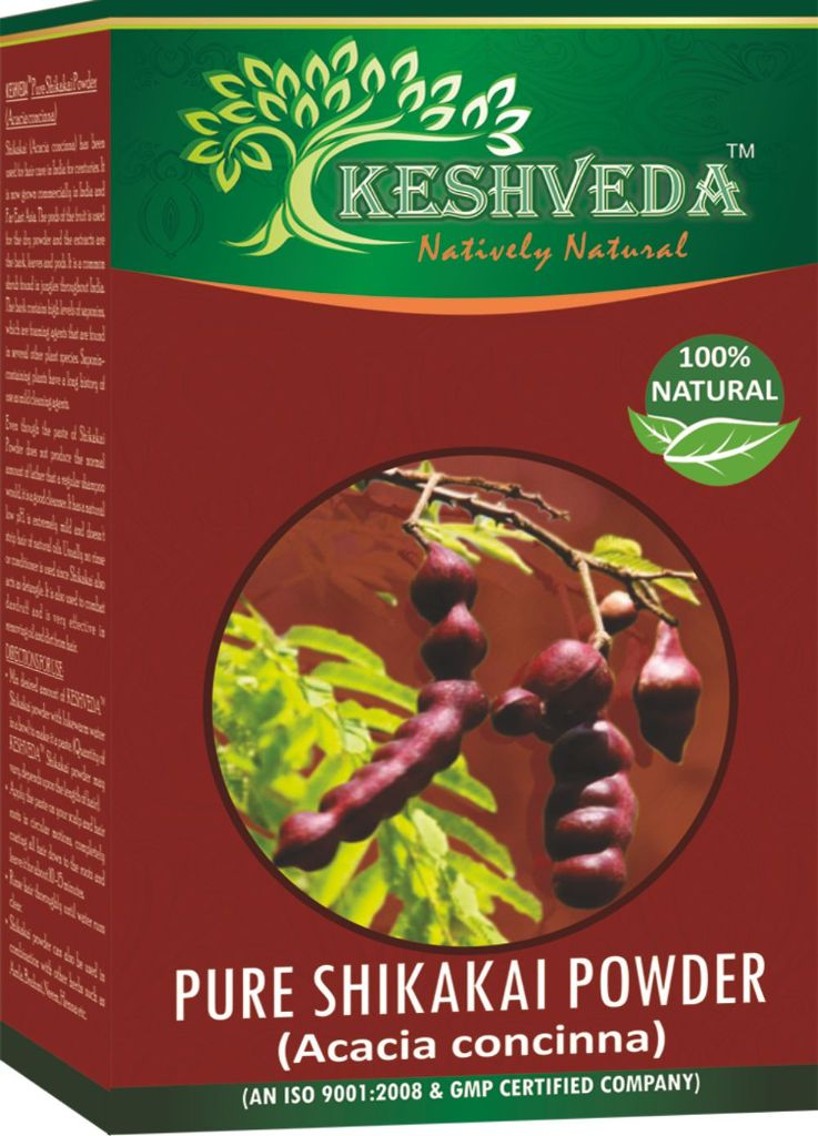Keshveda Pure Shikakai Powder (Pack Of 5)