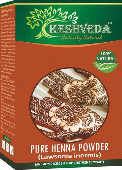 Keshveda Herbal Henna Powder (Pack Of 5)