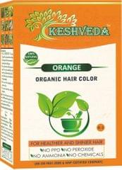 Keshveda Organic Hair Color Orange (Pack Of 5)