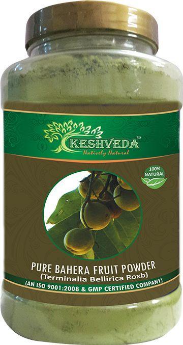 Keshveda Pure Bahera Fruit Powder (Pack Of 3)