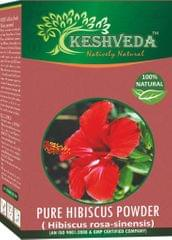 Keshveda Pure Hibiscus Powder (Pack Of 3)