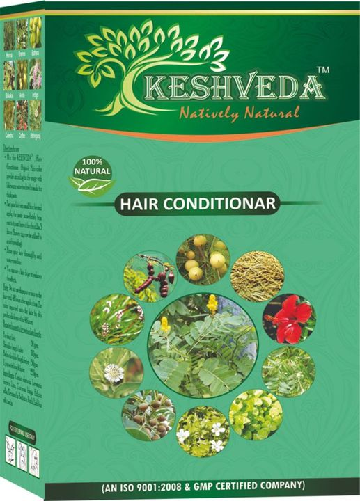 Keshveda Pure Henna Powder (Pack Of 6)