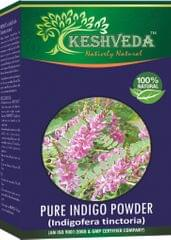 Keshveda Pure Indigo Powder (Pack Of 3)