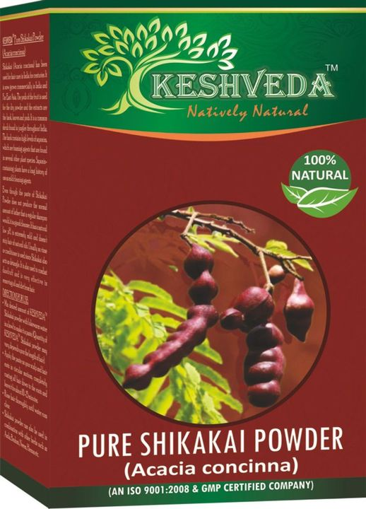 Keshveda Pure Shikakai Powder (Pack Of 3)