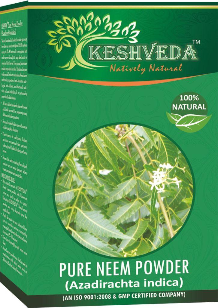 Keshveda Pure Neem Powder (Pack Of 3)