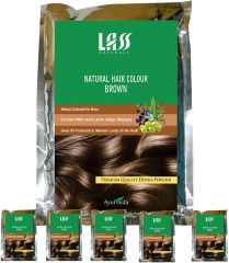 Lass Naturals Hair Colour Brown (Pack Of 5)