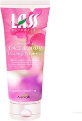 Lass Naturals Face & Body (Cleaning Scrub Gel) Pack Of 2