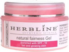 Herbline Natural Fairness Gel (Pack Of 3)