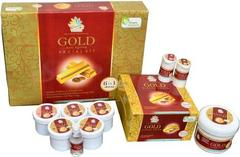 Vania Gold Facial Kit & Gold Bleach Cream (Pack of 3)