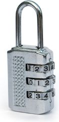 Basicare Combination Lock With Three Digitals  (Pack Of 3)