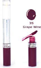Color Fever Premium Lip Gloss Shine - Grape Wine (Set Of 4)