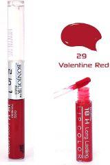 Bonjour Paris 2 in 1 Lip Gloss - Valentine Red (Set of 4) LGB07-29