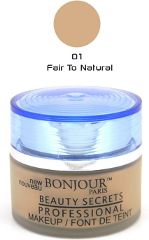 Bonjour Paris Foundation Jar - Fair to Natural Skin (Set of 4) FJB01-01