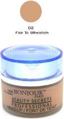 Bonjour Paris Foundation Jar - Fair to Wheatish Skin (Set of 4) FJB01-02