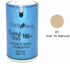 Color Fever Face Foundation - Fair To Natural (Set Of 4)