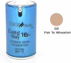 Color Fever Face Foundation - Fair To Wheatish (Set Of 4)