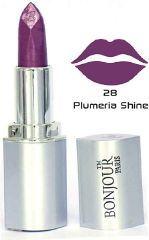 Bonjour Paris premium Lipstick- Plumeria shine (Set of 4) LSB02-28