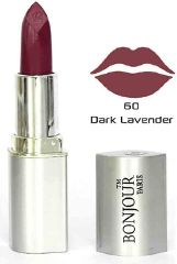 Bonjour Paris premium Lipstick- Dark lavender (Set of 4) LSB02-60