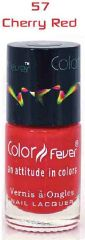 Color Fever Nail Gloss - Cherry Red (Set Of 4)