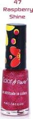 Color Fever Multi Shine Nail Polish -  Raspberry Shine (Set Of 4)