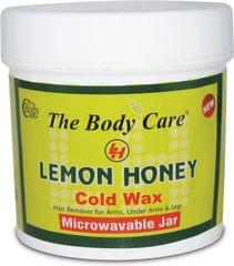 The Body Care Lemon Honey Cold Wax (Pack Of 6)