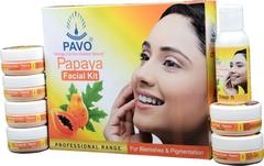 Pavo Papaya Facial Kit, 210gm (Pack of 2)