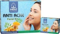 Pavo Anti Acne Facial Kit Combo, 260Gm