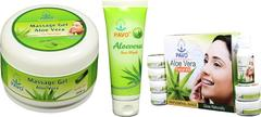 Pavo Aloe Vera Facial Kit & Soap Combo, 575Gm