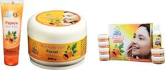 Pavo Papaya  Facial Kit & Soap Combo, 575Gm