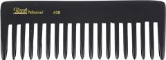 Roots Professional Detangling Combs - Black (Pack of 2) - SKU 406