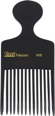 Roots Professional Detangling Combs - Black (Pack of 2) - SKU 408