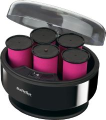 Babyliss 3038E - SETTERS-SET OF VOLUME & CURL - 5 EXTRA LARGE HEATED ROLLERS