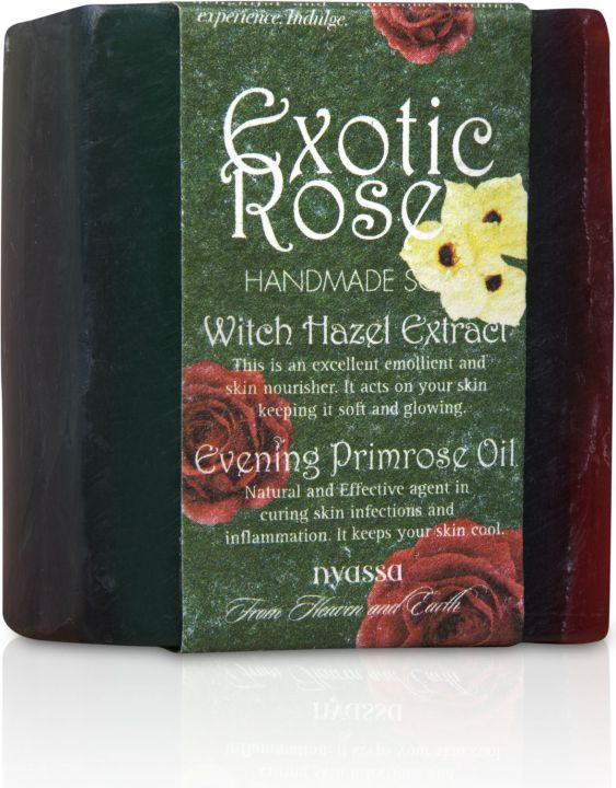 Nyassa  Exotic Rose  Handmade Soap (Pack Of 3)