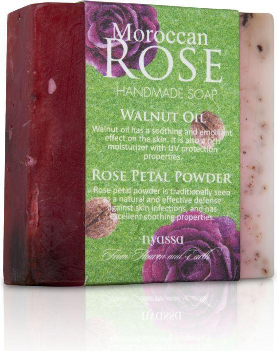 Nyassa  Moroccan Rose  Handmade Soap (Pack Of 3)