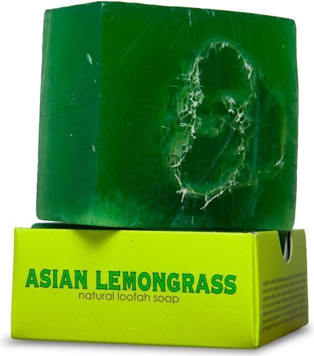 Nyassa  Asian Lemongrass  Handmade Loofah Soap (Pack Of 3)