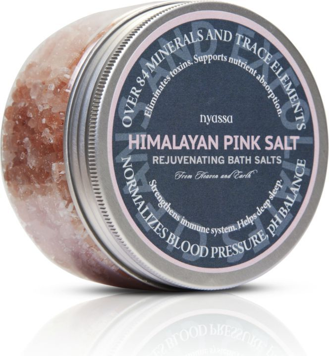 Nyassa Himalayan Pink Salt Bath Salt (Pack Of 2)