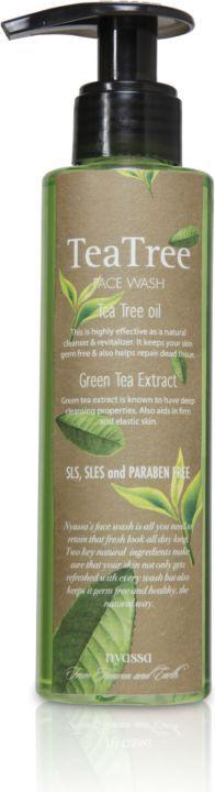 Nyassa Tea Tree Oil Face Wash (Pack Of 2)