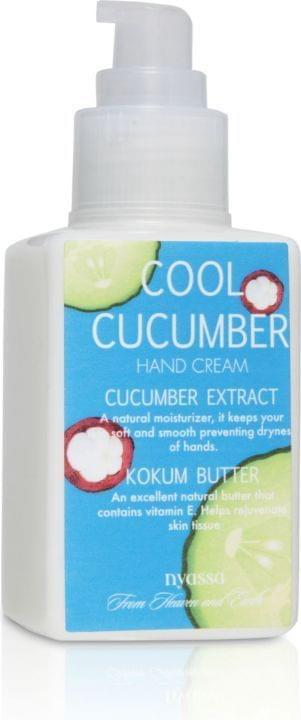 Nyassa Cool Cucumber  Hand Cream (Pack Of 2)