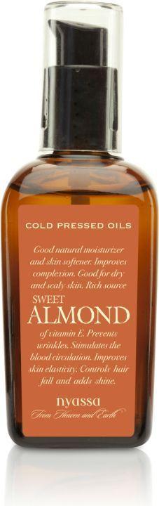 Nyassa Sweet Almond Cold Pressed Oil, 100Ml