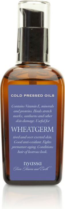 Nyassa Wheat Germ Cold Pressed Oil, 100Ml
