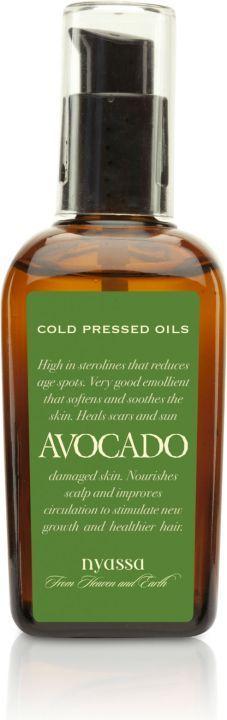 Nyassa Avocado Cold Pressed Oil, 100Ml