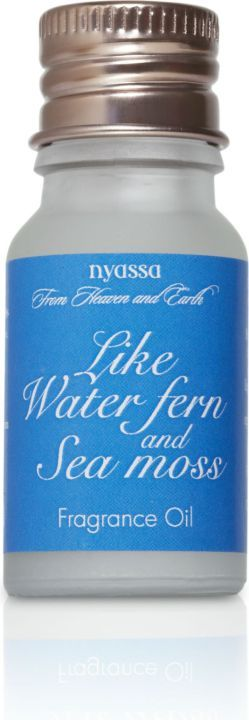 Nyassa Like Water Fern And Sea Moss  Fragrance Oil (Pack Of 2)