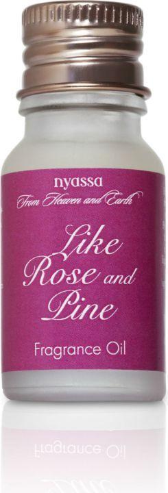 Nyassa Like Rose And Pine  Fragrance Oil (Pack Of 2)
